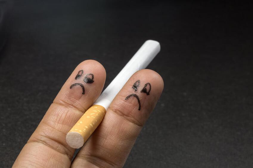 Rauchen innerer Zwiespalt
